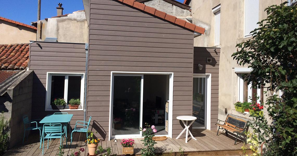 extension maison bois puy de dome