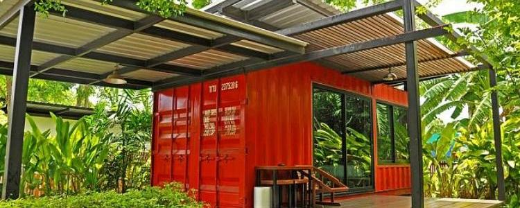 Maisons containers