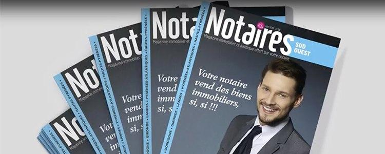 Magazine Notaires Sud Ouest