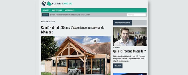 Camif Habitat decryptée par Business and Co