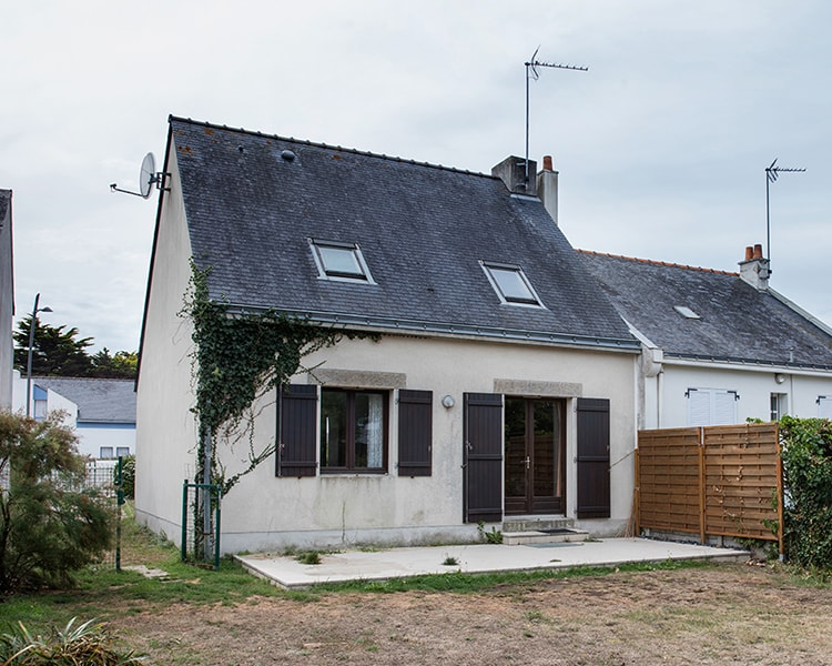 extension d'une maison contemporaine loire atlantique avant
