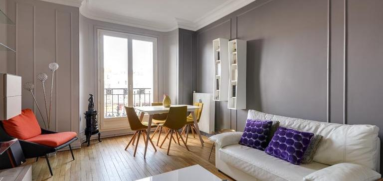 rénovation d'appartement 60 m2 à courbevoie