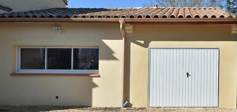 Garage de 20m² sur maison traditionnelle