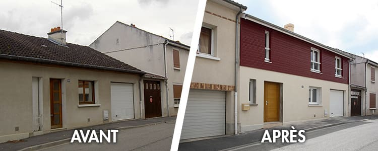 Extention de maison à reims